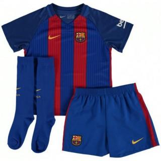 Ensemble Barcelone Enfant 2016/2017 Maillot Short Chaussettes Domicile Boutique France