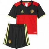 Ensemble Belgique Enfant 2016/2017 EURO 2016 Maillot Short Domicile Escompte En Lgine