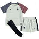 Officielle Ensemble Equipe de France Enfant 2016/2017 EURO 2016 Maillot Short Chaussettes Extérieur