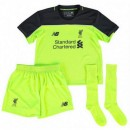 Ensemble Liverpool Enfant 2016/2017 Maillot Short Chaussettes Third Magasin Paris
