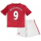 Ensemble Manchester United Enfant IBRAHIMOVIC 2016/2017 Maillot Short Domicile Paris