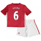 Ensemble Manchester United Enfant POGBA 2016/2017 Maillot Short Domicile Site Officiel