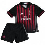 Ensemble Milan AC Enfant 2016/2017 Maillot Short Domicile Boutique En Ligne