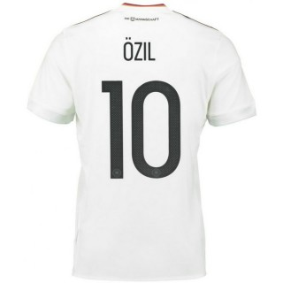 Acheter des Nouveau Maillot Allemagne OZIL 2017/2018 Coupe Du Monde Domicile