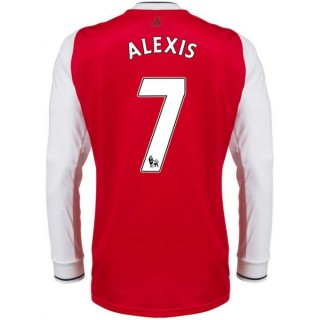 Maillot Arsenal ALEXIS 2016/2017 Domicile Manches Longues Promotions