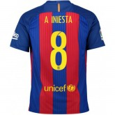 Soldes Maillot Barcelone INIESTA 2016/2017 Domicile