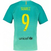 Maillot Barcelone SUAREZ 2016/2017 Third Moins Cher