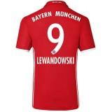 Maillot Bayern LEWANDOWSKI 2016/2017 Domicile Pas Chère
