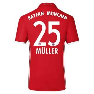 Maillot Bayern MULLER 2016/2017 Domicile Vente En Ligne