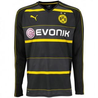 Officielle Maillot Dortmund 2016/2017 Extérieur Manches Longues