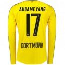 Maillot Dortmund AUBAMEYANG 2016/2017 Domicile Manches Longues Vendre Alsace