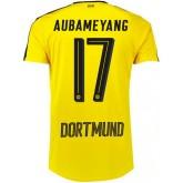 Maillot Dortmund AUBAMEYANG 2016/2017 Domicile Soldes Provence