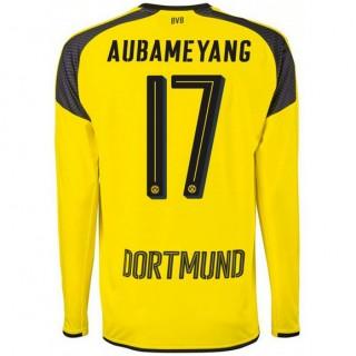 Maillot Dortmund AUBAMEYANG Ligue Des Champions 2016/2017 Manches Longues Pas Cher Paris