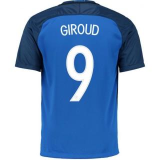 Maillot Equipe de France Enfant GIROUD 2016/2017 EURO 2016 Domicile Promos Code