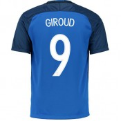 La Collection 2017 Maillot Equipe de France GIROUD 2016/2017 EURO 2016 Domicile