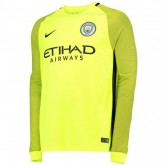 Magasin Maillot Gardien Manchester City 2016/2017 Domicile Paris