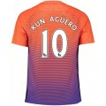 Maillot Manchester City AGUERO 2016/2017 Third France Magasin