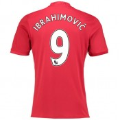 Nouvelle Maillot Manchester United IBRAHIMOVIC 2016/2017 Domicile