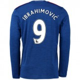 Mode Maillot Manchester United IBRAHIMOVIC 2016/2017 2016/2017 Extérieur Manches Longues