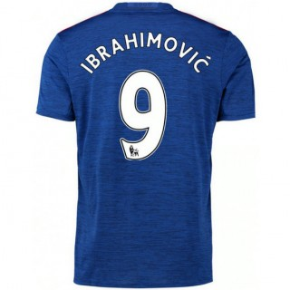 Soldes Maillot Manchester United IBRAHIMOVIC 2016/2017 Extérieur