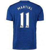 Maillot Manchester United MARTIAL 2016/2017 Extérieur Réduction Prix