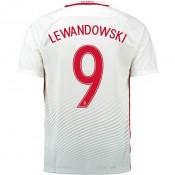Maillot Pologne LEWANDOWSKI 2016/2017 EURO 2016 Domicile Boutique