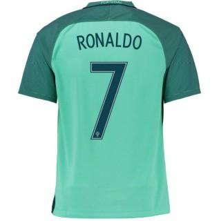 Maillot Portugal Enfant RONALDO 2016/2017 EURO 2016 Extérieur Site Officiel France