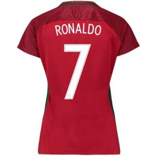 Maillot Portugal Femme RONALDO 2016/2017 EURO 2016 Domicile Officiel