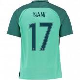 Vente Maillot Portugal NANI 2016/2017 EURO 2016 Extérieur