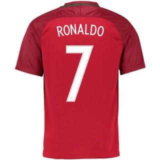 Maillot Portugal RONALDO 2016/2017 EURO 2016 Domicile Moins Cher