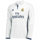 Maillot Real Madrid 2016/2017 Domicile Manches Longues Lyon