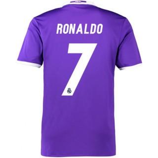 Achat de Maillot Real Madrid Enfant RONALDO 2016/2017 Extérieur