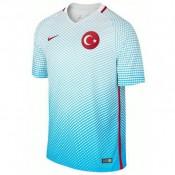 Maillot Turquie 2016/2017 EURO 2016 Extérieur Pas Chère