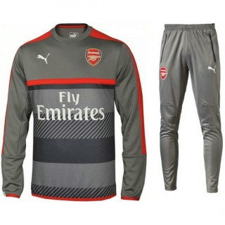 Achetez Survetement Arsenal 2016/2017 Sweat Gris