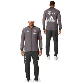 Boutique Survetement Bayern 2016/2017 Sponsors Gris Paris