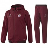 Survetement Bayern Ligue Des Champions 2016/2017 Capuche Blanc Destockage Soldes