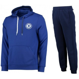 Mode Survetement Chelsea 2016/2017 Capuche Bleu