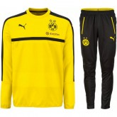 Survetement Dortmund Enfant 2016/2017 Sweat Jaune Site Officiel