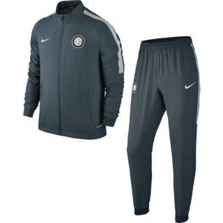 Survetement Inter Milan 2016/2017 Gris Pas Cher