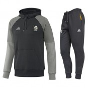 Survetement Juventus 2016/2017 Capuche Sweat Noir Promos