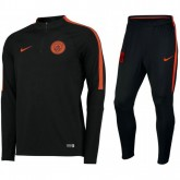 Survetement Manchester City 2016/2017 Strike Noir Orange Vendre Alsace