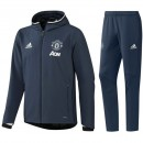 Survetement Manchester United 2016/2017 Capuche Gris Réduction