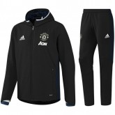 Survetement Manchester United 2016/2017 Capuche Noir Destockage Promos Code