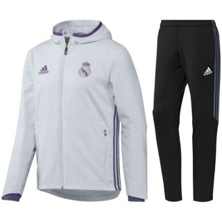 Survetement Real Madrid Enfant 2016/2017 Capuche Promo Prix Paris