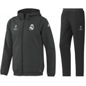 FR Survetement Real Madrid Enfant Ligue Des Champions 2016/2017 Capuche