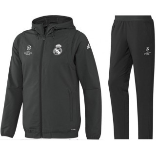 Survetement Real Madrid Ligue Des Champions 2016/2017 Capuche Soldes