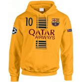 Vente Nouveau Sweat a Capuche Barcelone MESSI 2016/2017