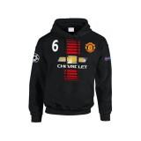Promotions Sweat a Capuche Manchester United Enfant POGBA 2016/2017
