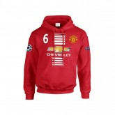 Sweat a Capuche Manchester United Enfant POGBA 2016/2017 Soldes Nice