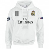 Sweat a Capuche Real Madrid BALE 2016/2017 Promos
